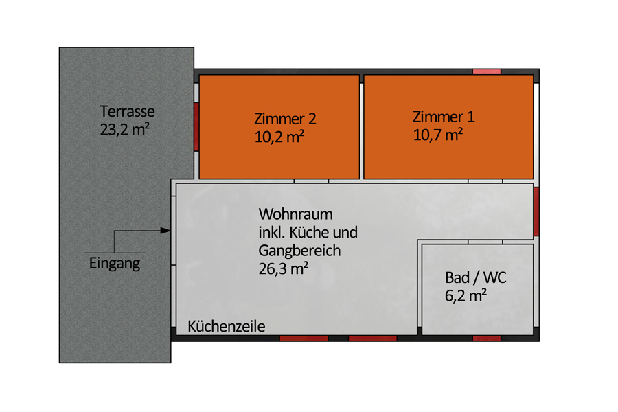 Nebenhaus WG / Wohnung 2