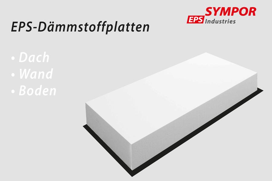 EPS Dämmstoffplatten von Sympor
